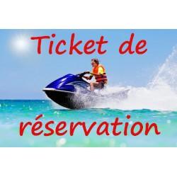ticket de reservation pack...